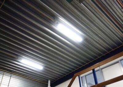 LED verlichting bedrijfsgebouw